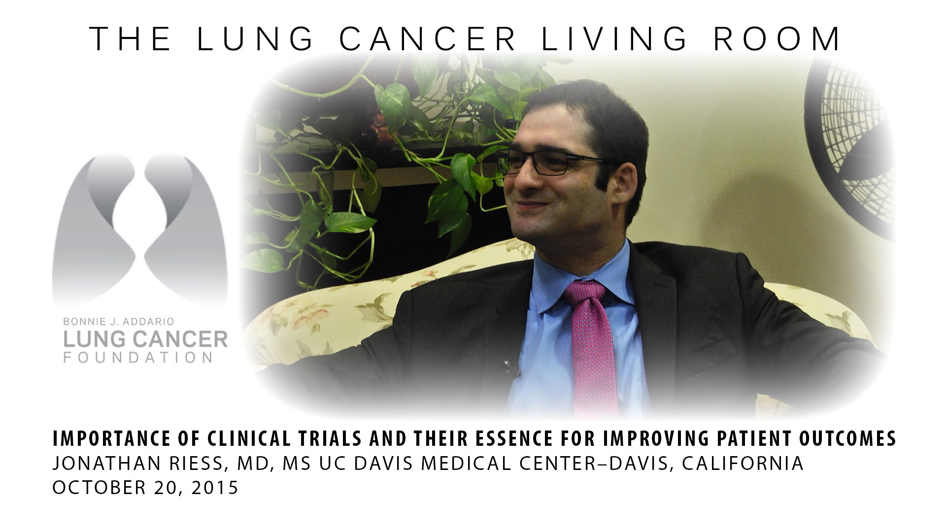 Lung cancer living room 10 20 15 peninsula television inc for The living room 20 10