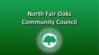 The North Fair Oaks Community Council Meeting 05/26/16