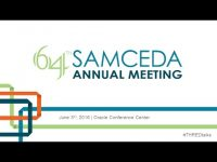 The #THREDtalks at the 64th SAMCEDA Annual Meeting