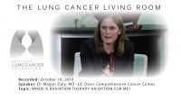 Lung Cancer Living Room – 10/18/16