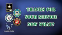 Thanks For Your Service. Now What? – 01